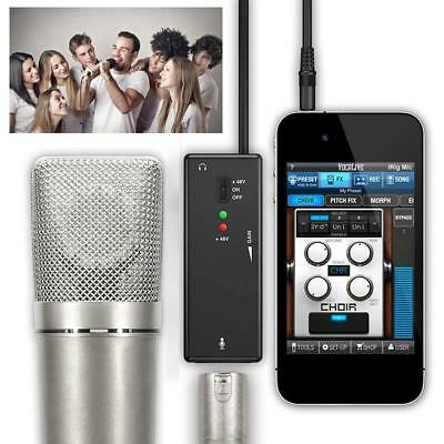IK Multimedia iRig PRE XLR Microphone Audio Interface for IOS  Android