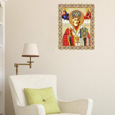 Cross Stitch Diamond Painting For Home Decoration Hierarch 30*26cm S0 ES
