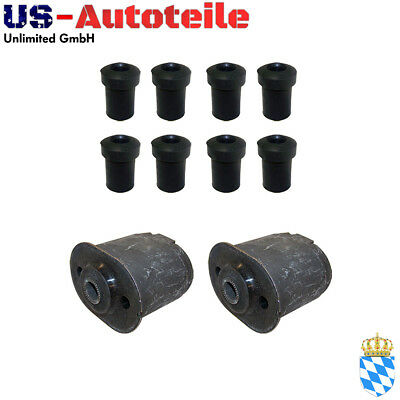 Buchsen Kit Blattfedern hinten Chrysler Voyager, Grand Voyager NS/GS 1996/2000