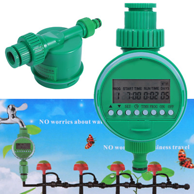 Automatic Garden Irrigation Controller Water Sprinkler System Timer Outdoor Tool