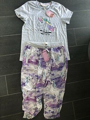 BNWT PETER ALEXANDER Unicorn Ladies PJ set, Size XS  RRP$129.90