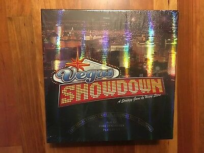 Avalon Hill Vegas Showdown Board Game. New And Sealed. Casino Gambling Game.