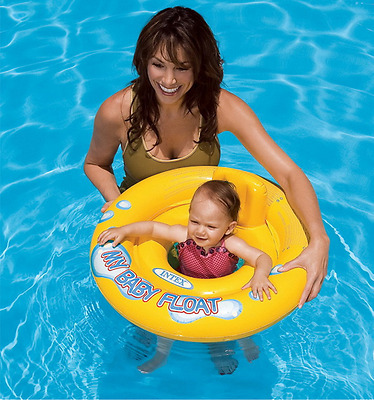 Aid Infant Pool Inflatable Chair Float Intex My Baby Kids Floats Seat Swimming