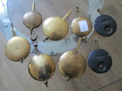 Job Lot Of Mantel Clock Pendulums Smiths Winterhalder