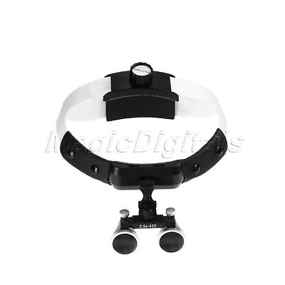 Dental Loupes Surgical Loupes Binocular Magnifier 2.5X 420mm For Dentists
