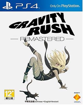 NEW Sony Playstation 4 PS4 Game Gravity Rush Remastered Eng/Chi Ver
