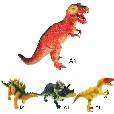Large Rubber Foam Stuffed Dinosaur Play Toy Animals Action Figures