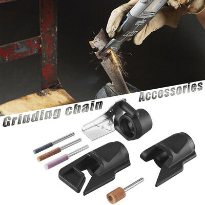 Chainsaw Chain Saw Sharpening Attachment Electric Grinding Guide Drill Adapter