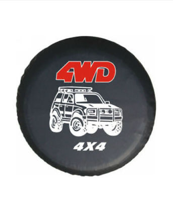 """SUV 4WD Off-road 16""""Inch Spare Wheel Tire Cover Universal Fit for All Car"""