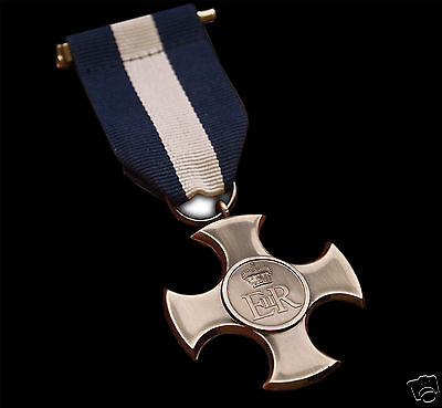 Distinguished Service Cross Medal Armed Forces Royal Fleet & Navy Ww2 Repro New