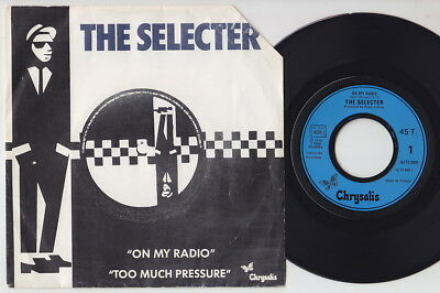 The SELECTER * On My Radio * 1979 French 45 * 2 TONE SKA Revival 45 *