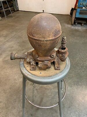 Rare Antique Cast Iron Water Pump (Ram)