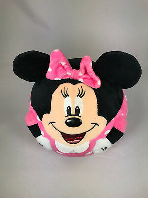 Disney's Minnie Mouse Pillow - Size about 8 inches - Excellent condition