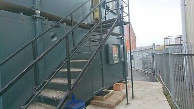 Metal Stairs for site office/Portacabin/