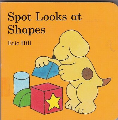 Spot The Dog First Shapes - New Board Book