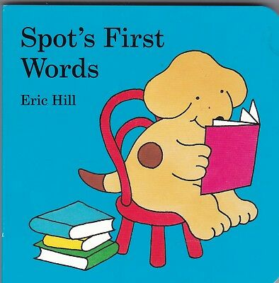 Spot The Dog First Words - New Board Book