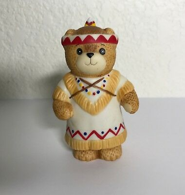 Enesco Lucy & Me Native American Mom & Baby Thanksgiving Bear