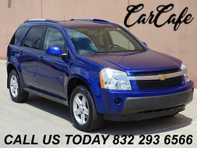 2006 Chevrolet Equinox LT 06 CHEVROLET EQUINOX LT 3.4L V6! ACCIDENT FREE! CARFAX CERTIFIED! LEATHER SEATS!