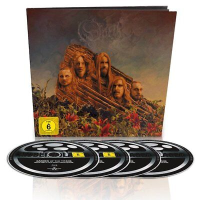 OPETH - Garden Of The Titans Live - EARBOOK BLURAY+DVD+2CD (Nuclear Blast 2018)