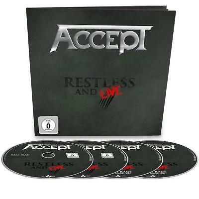 ACCEPT - Restless And Live - EARBOOK BLURAY+DVD+2CD (Nuclear Blast 2017)