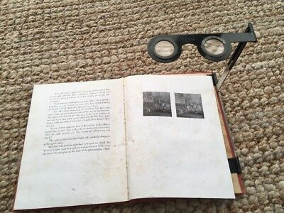 'At the Zoo, The Stereo Book Of Animals' ~ 1937 3D Book W Built-In Stereoscope