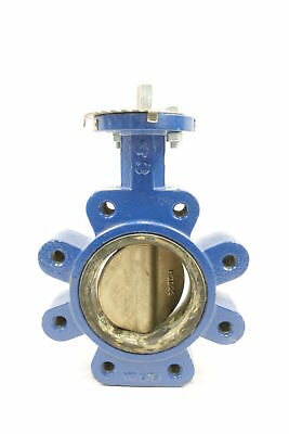 Abz Manual Iron Lugged 4in Butterfly Valve