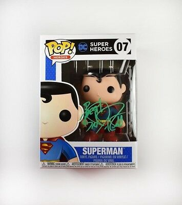Brandon Routh Superman Autographed Signed Funko Pop Certified Authentic BAS COA