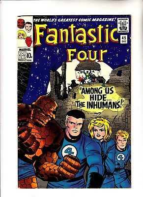Fantastic Four 45 1st app of The Inhumans