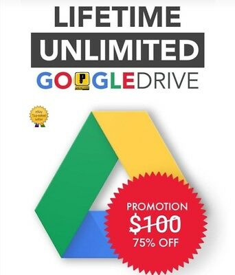 ❤UNLIMITED❤G DRIVE BUY 2 win 1 free LIFE TIME NOT EDU 100% Secure UNLIMITED