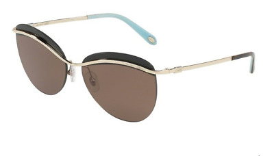 b85c79dc3364 *New Authentic* Tiffany & Co. 0Tf3057 60479S Silver, Azure Gradient Blue  Lens