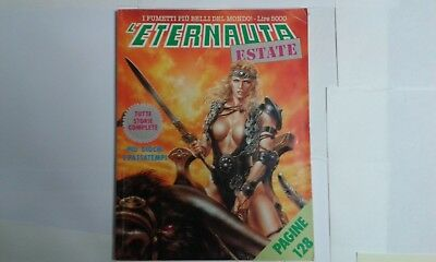 L'ETERNAUTA Estate 9 storie complete Comic Art  1988 no magic press corno