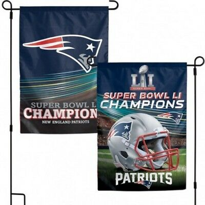 "New England Patriots SBLI Championship 2-Sided Garden Flag 12""x18""-Wincraft, Inc"