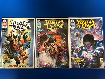 Justice League 1-6 (2018) DC Comics 1 2 3 4 5 6 Scott Snyder/ Jim Cheung