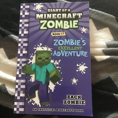 New, Diary Of A Minecraft Zombie. Book 17. Zombie's Excellent Adventure