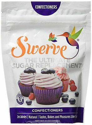 SWERVE SWEETENER Confectioners - Sugar Substitute 12oz 340g - FREE 1st Class P&P
