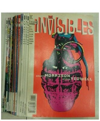 The Invisibles Volume One, Complete Issues 1-25, by Morrison, DC Vertigo