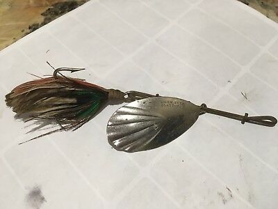 Vintage G. M. Skinner Spinner Fishing Lure Antique Tackle Box Bait Bass Musky