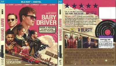 Baby Driver (Blu-ray SLIPCOVER ONLY * SLIPCOVER ONLY * SLIPCOVER ONLY)