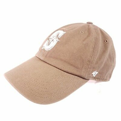 newest 2db27 dee98 ... promo code for seattle mariners mlb brown 47 forty seven brand  strapback adjustable hat cap h3