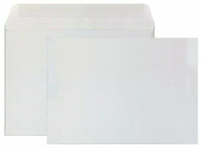 """White Wove Booklet Style Square Flap Envelope, 6"""" x 9"""" inch. - 1,000 / Box"""