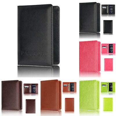 Passport Holder Protector Mini Wallet Business Card Soft Passport Cover Handbag
