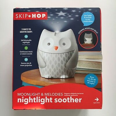 Skip Hop Moonlight & Melodies Nightlight Soother - NEW