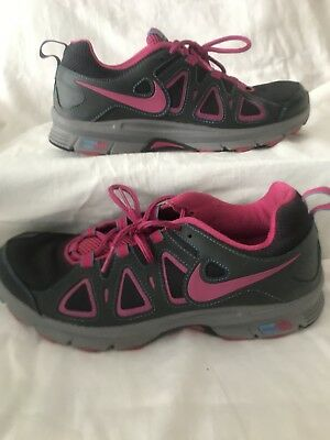 d9561a1a6a5b6 Womens NIKE AIR Alvord 10 Gray Pink Lace Up Running Trail Sneakers Shoes Sz  10
