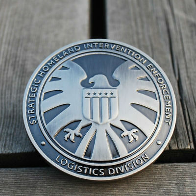Avengers Agents of S.H.I.E.L.D SHIELD Eagle Funny Badge Pin Chic Cosplay Gift