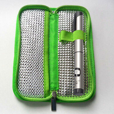 Insulin Pen Case Pouch Cooler Diabetic Pocket Cooling Protector Zipper Bag Newly