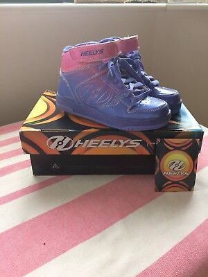Heelys Size 3 New In Box Pink And Purple