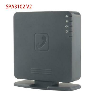 SPA3102 V2 Voice Gateway Voip phone Router 1 FXO+1 FXS Unlocked Phone adapter