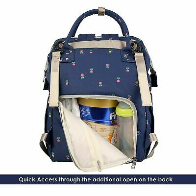 Mummy Backpack Baby Diaper Nappy Backpack Multifunctional Mommy Changing Bag UK