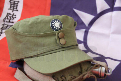 WWII Chinese  army elite force dress uniform cap