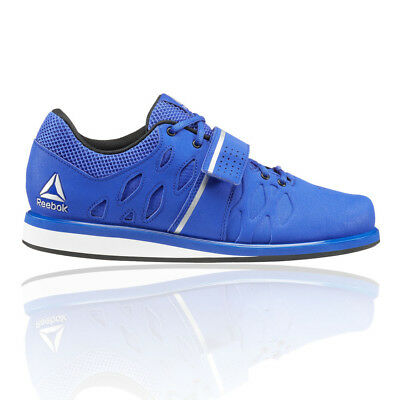 Reebok Mens Lifter PR Weightlifting Shoes Blue Sports Breathable